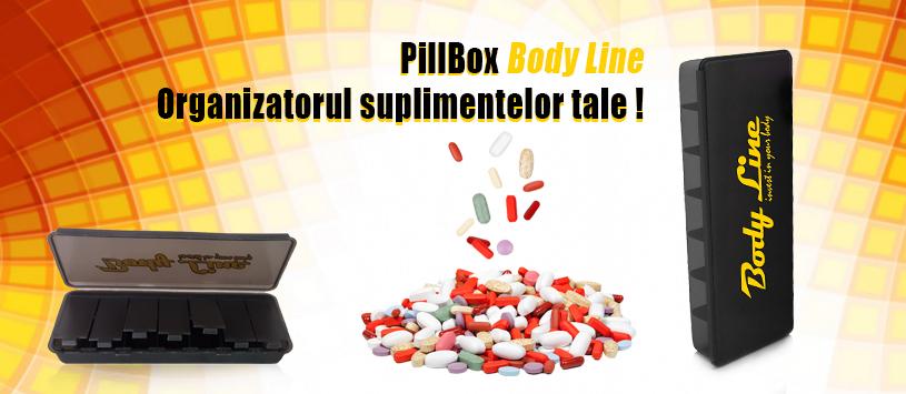 pillbox organizator pastile, cutie de pastile