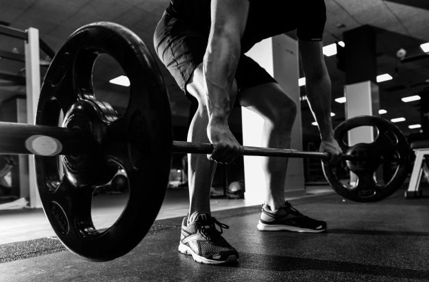 workout man body building gym