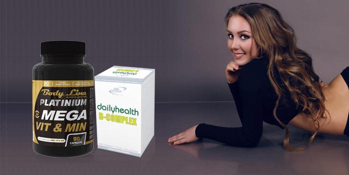 Rolul vitaminelor - Pachet Radiant - conține vitamine pentru sănătatea  părului și al unghiilor