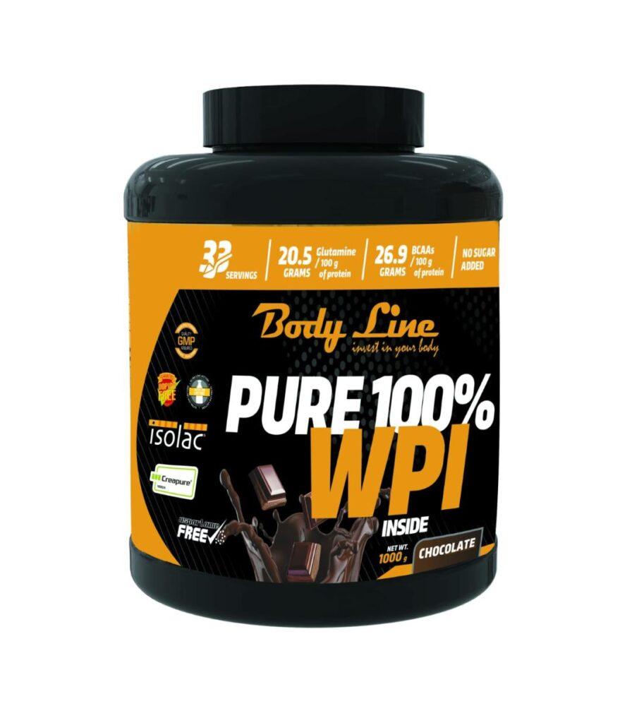 proteina din zer WPI 100%