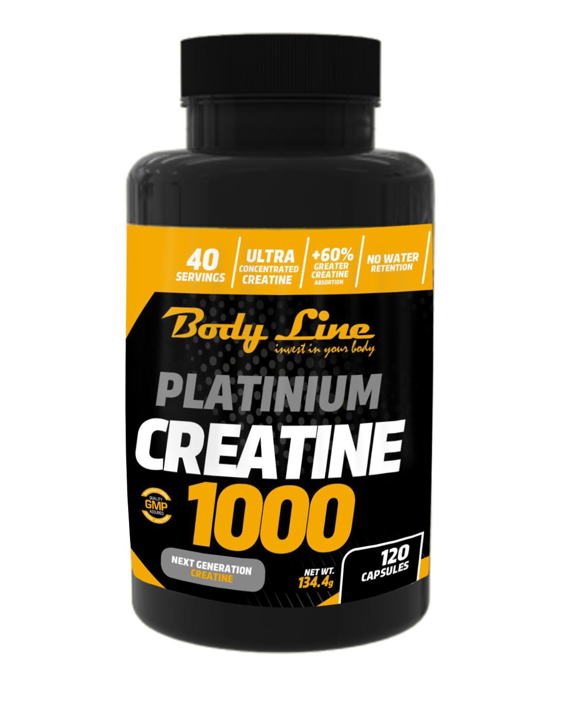 Platinium creatine 1000 new