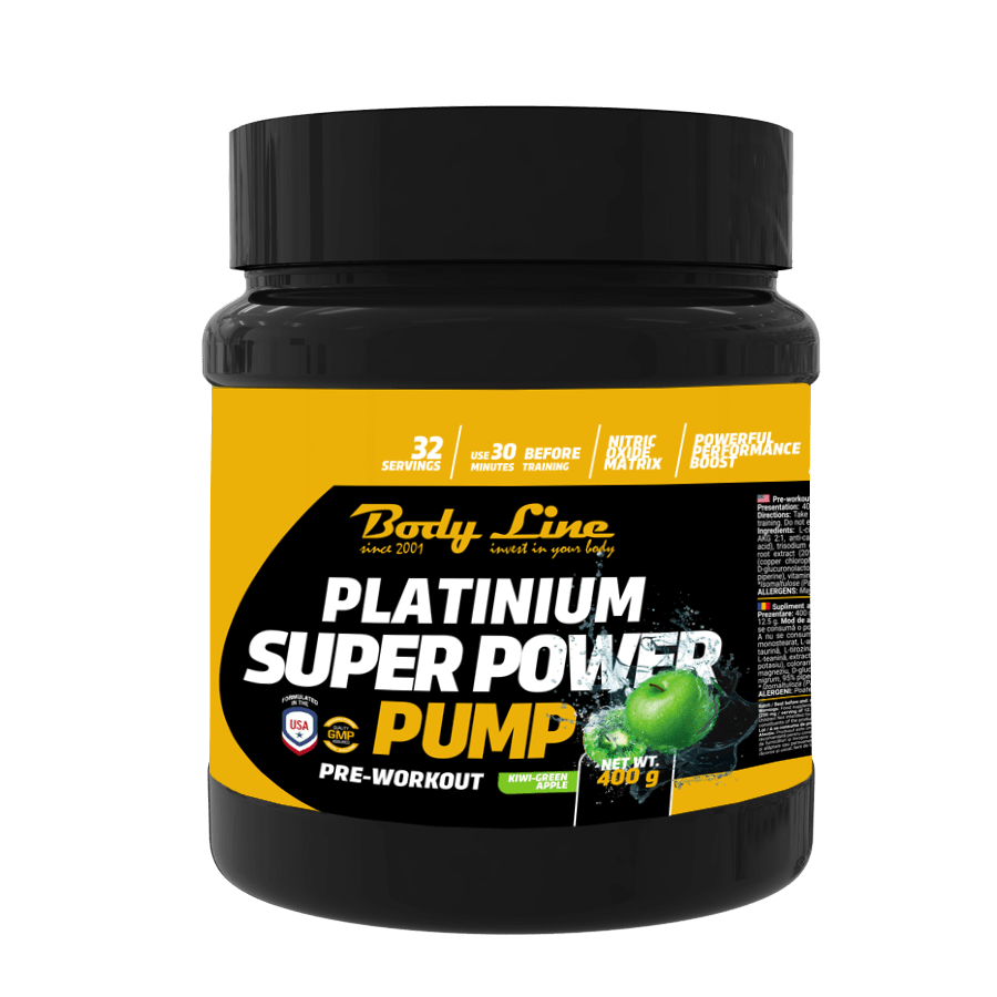 super power pump - cel mai bun preworkout