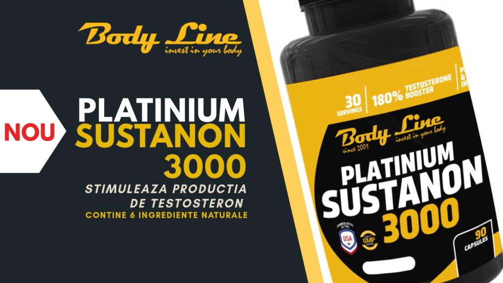 PLATINIUM SUSTANON 3000 - stimuleaza productia de testosteron