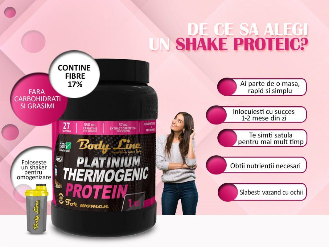 dieta cu shake de proteine , shake proteic pentru slăbire