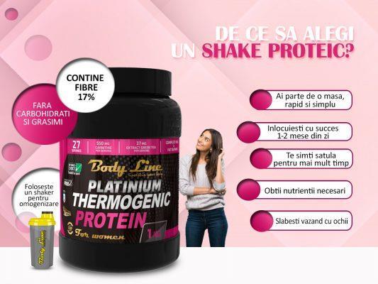 dieta cu shake de proteine