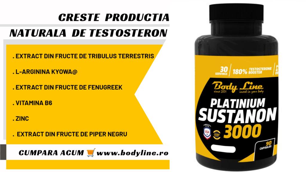 sustanon 3000 creste producția de testosteron
