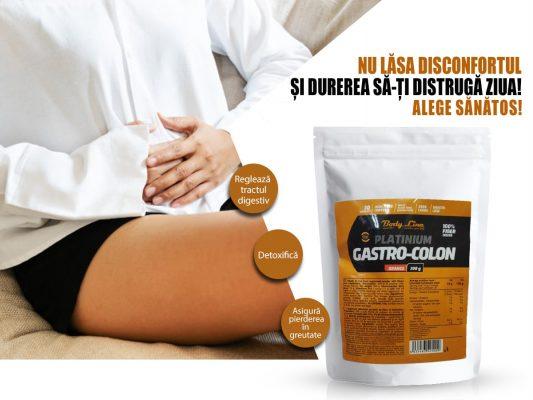 GASTRO COLON FIBRE ALIMENTARE - ajută în intoleranța alimentară