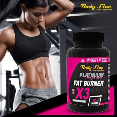 FAT BURNER X3 conține crom pentru slăbire rapidă