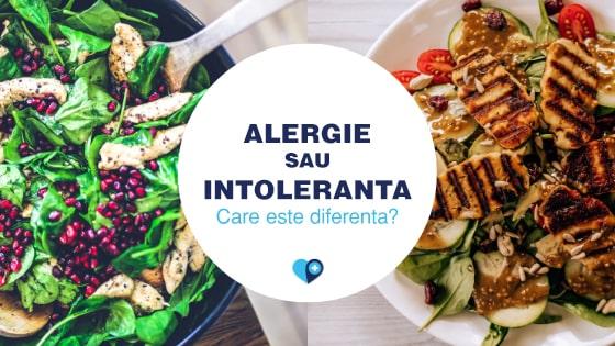 alergie sau intoleranța alimentară