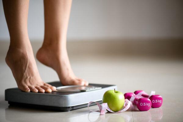 pierdere greutate versus pierdere grăsime - măsurare cântar