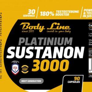 Platinium Sustanon 3000 90Capsules eticheta min 1400x628 min