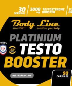 Platinium Testo Booster [90Capsules] - ETICHETA