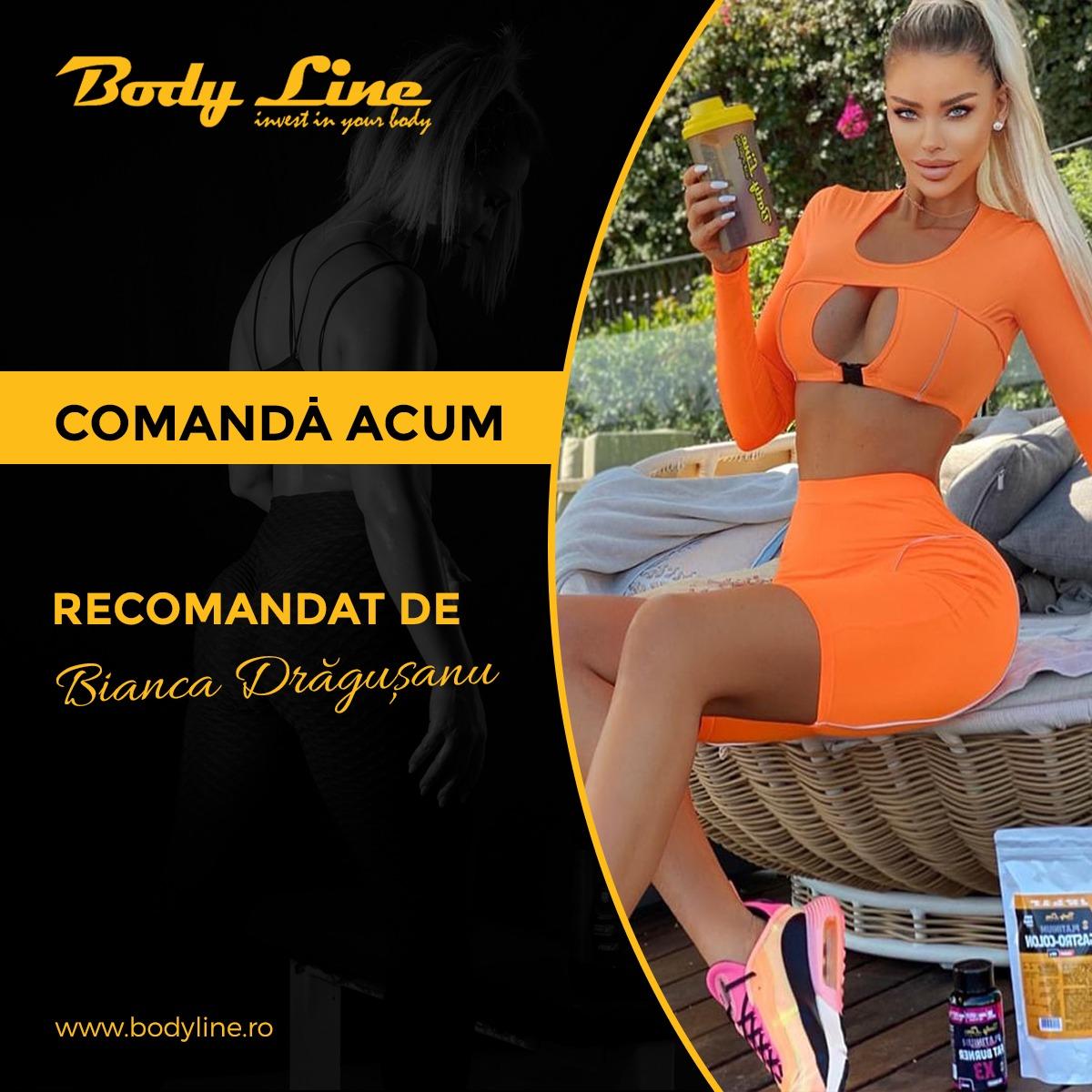 BODY LINE SLIM 2 - SLABESTI FARA MISCARE - RECOMANDAT DE BIANCA DRAGUSANU