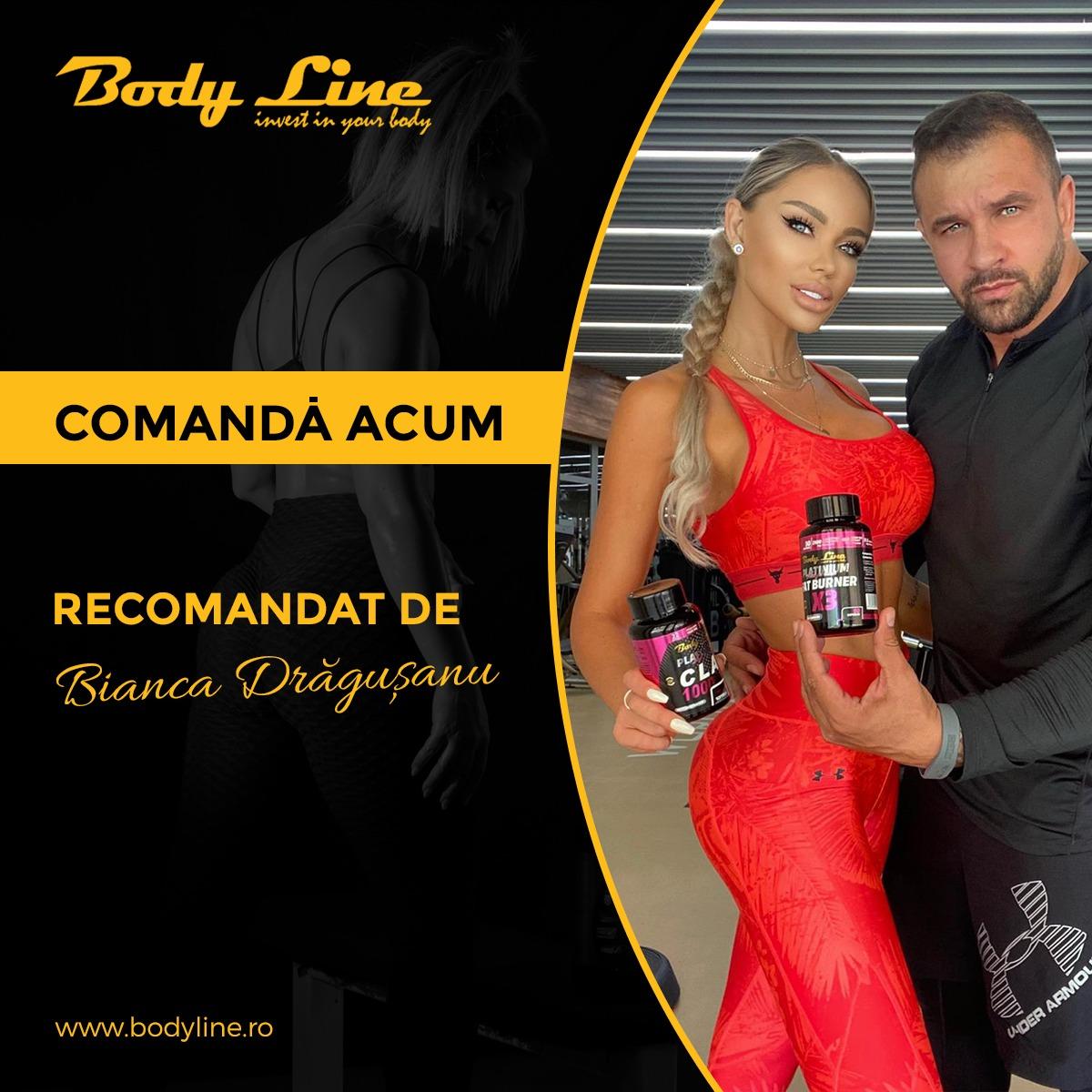 BODY LINE SLIM - SUPLIMENTE SLABIT RECOMANDATE DE BIANCA DRAGUSANU
