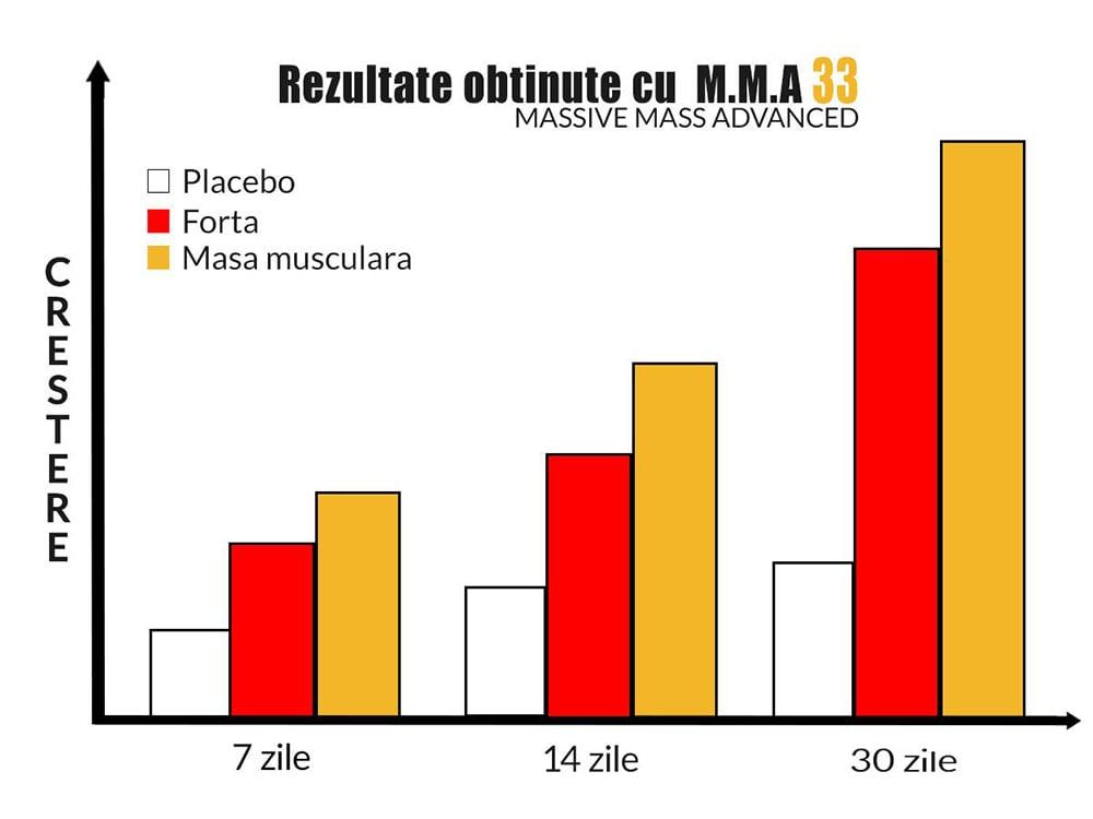 Rezultate obtinute cu MMA33