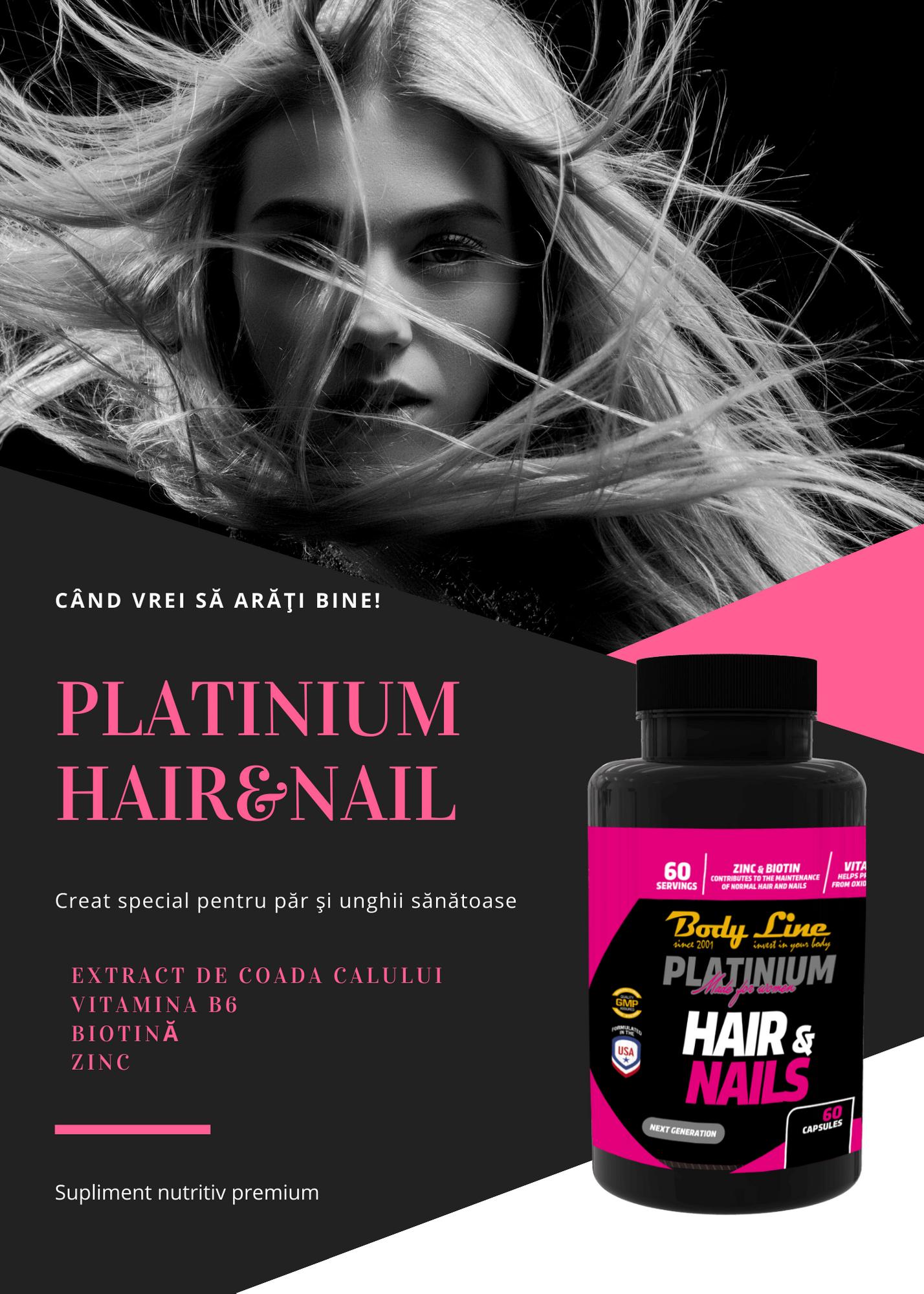 Platinium HAIRNAIL New Product