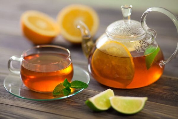 asocierea alimentelor - Ceaiul verde + Lamaia +menta