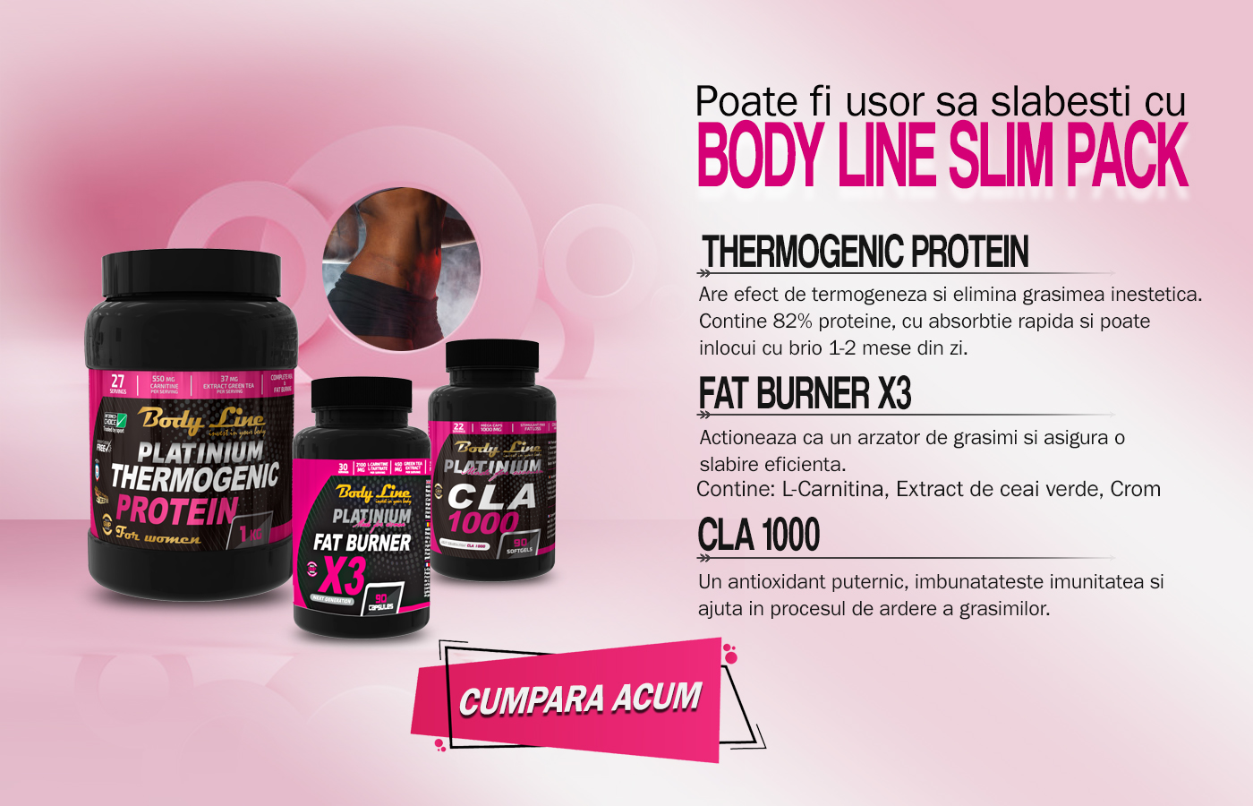 body line slim pack - slăbire eficientă