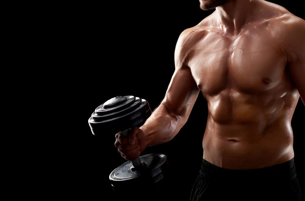 fitness gym man workout - super power pump - energizant inainte de sala