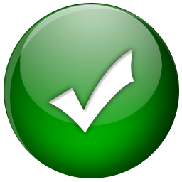 green ok icon png