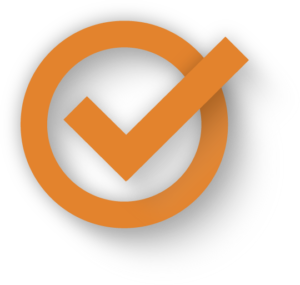 ok icon orange