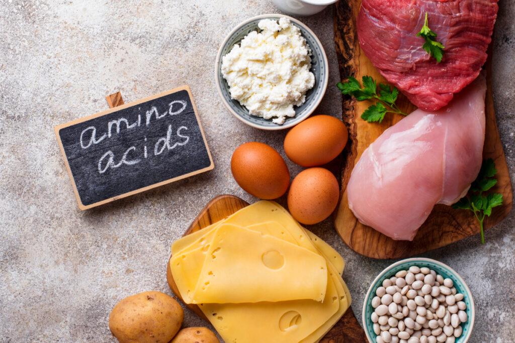 Aminoacizii esentiali - surse alimentare