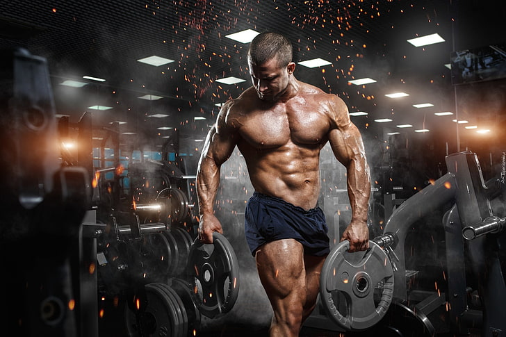 muscle body building with MMA STACK