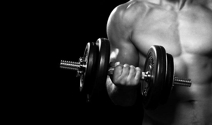 man fitness bodybuilding