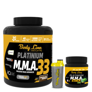 BODY LINE MMA STACK + MMA 33 Mass Gainer