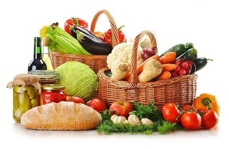 Alimente zero calorii - diverse alimente