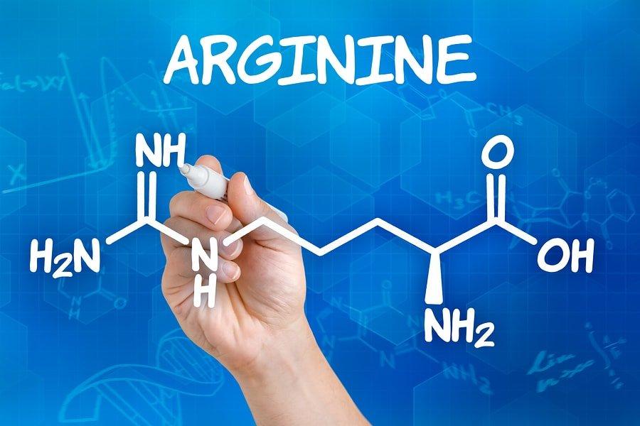 Arginina formula structura