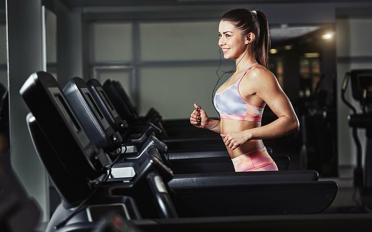 Exercitii cardio alergare pe banda