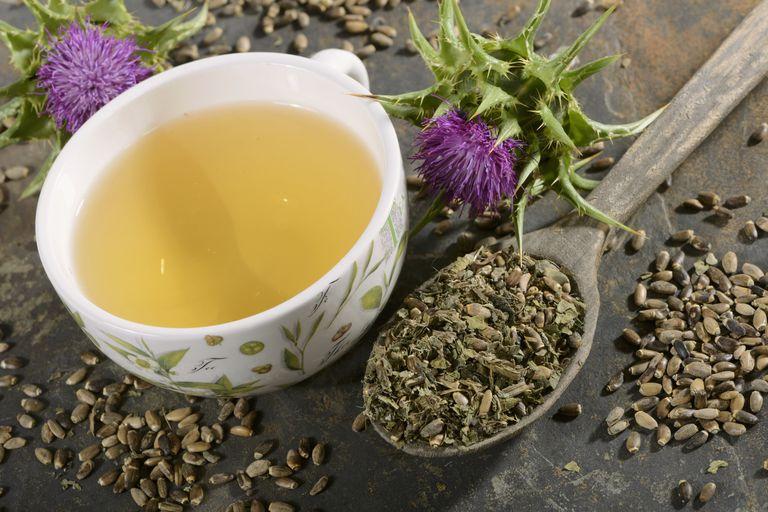 ceai de silimarina