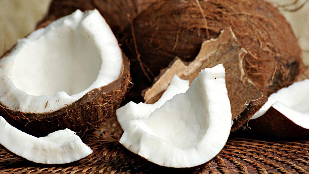 uleiul de cocos din nuca de cocos