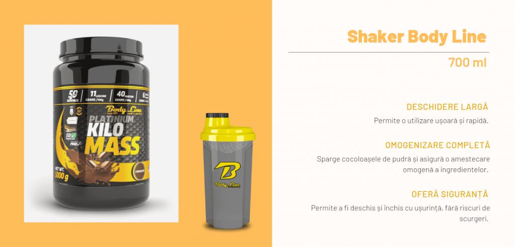 Kilo Mass + Shaker Body Line