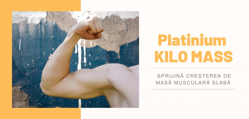 Kilo Mass supliment pentru crestere masa musculara