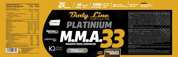 MMA 33 - Chocolate Orange Flavour 1500g
