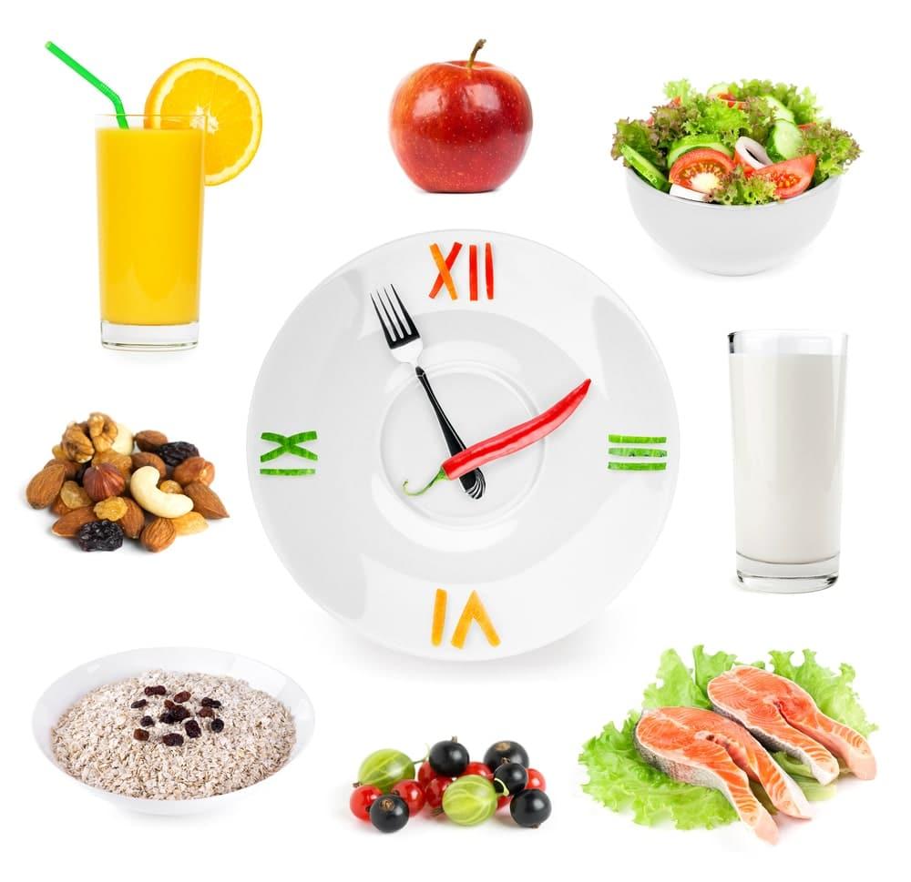 dieta din 2 în 2 ore