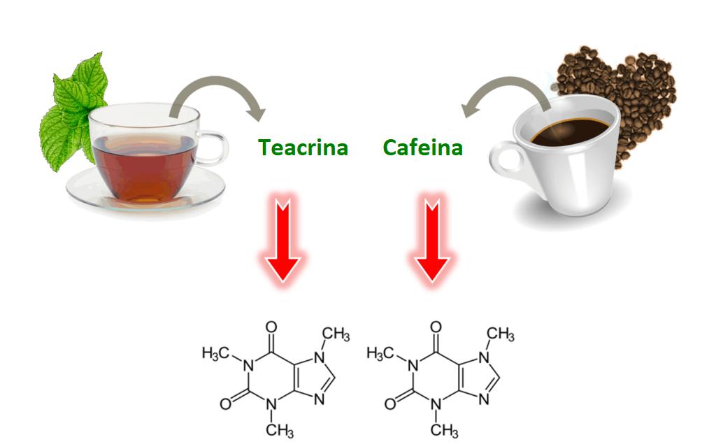 teacrine similar cu cofeina